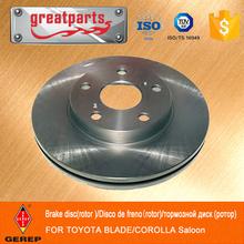 Hot Auto Parts for TOYOTA BLADE/COROLLA/AXIO disc brake plate 43512-02200/43512-02180/43512-12690