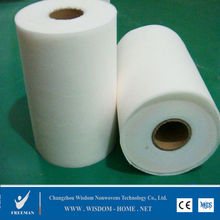 Viscose polyester cotton thermal bond raw material airlaid roll pet PP spunbond spunlace nonwoven fabric for wet wipes&diapers