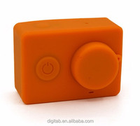 Wholesale Colorful Silicon Case For Xiaomi Yi Action Camera Soft Case For Xiaomi Yi Accessories