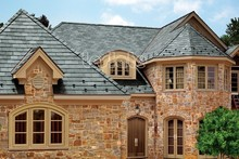 Natural and heat proof green slate roof tiles