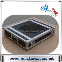 2U flight cases for echo Karaoke amplifier in professional audio, video and lighting
