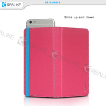 Leather Flip Case Magnetic Book Cover for LG G3 Stylus D690,leather flip case for lg g3 stylus