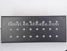 english nice shape and high quality infrared remote control automatic Cree led aquarium light panel to England for coral