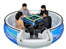 Leisure electric Play chess donut boat for park