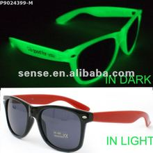 Wholesale luminous glasses/noctilcent glasses/fluorescent glasses