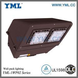 DLC certified, High efficiency, 100W LED Wall Pack Cutoff Light