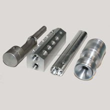 CNC turned core pin injection mould aluminium 6061 precision parts
