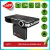 high quality radar detector and gps car DVR or car camera Russia & English for car speed limited