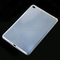 Transparent TPU back case cover for ipad mini4 soft cover