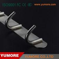 Premium quality 304 stainless steel 3 hook wall rack