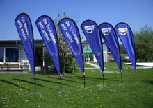 Advertising flag Banners/display beach banner flag/advertisement flying banner Language Option French