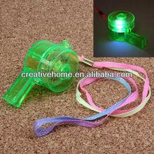 Stylish Flashing LED Light Whistle