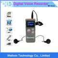 Portátil oculta grabadora digital de audio/mini grabadora de voz