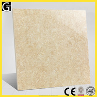 Bright high-level beauty Yellow color Tulip flower design ceramics polished flooring and wall tile
