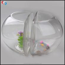 Double Creative Design goldfish bowl Fish Farming Tank Fish Bowl,Aquarium Clear Fish Tank,Decorative Mini Glass aquarium