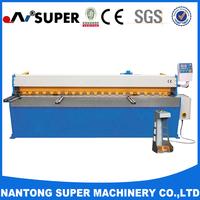 Mini Hydraulic Metallic Plate Shearing Machine With Good Quality