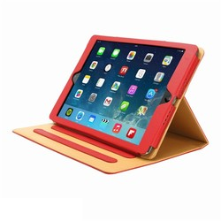 shockproof tablet leather case, for ipad 2/3/4 air air2 mini smart cover