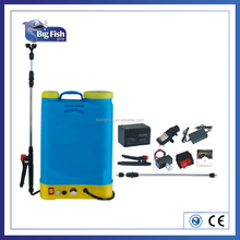 16L battery sprayer with High pressure,Better Atomizing,Fiberglass lance and 3 plastic nozzle
