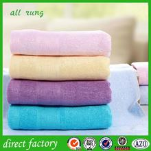 home textile high quality 100% bamboo towels baths with low price