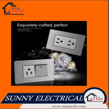 high quality american standard brushed stainless switch