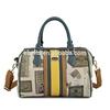 cotton road bag leather handbags oem fashion cowhide leather handbags ladies shoulder bags genuine leather travel bag
