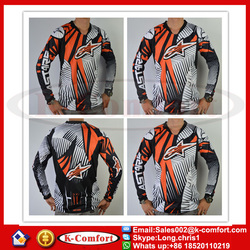 KCM2050 Motorcycle Jersey Off Road Motorbike Racing Jersey MTB MX DH Downhill Cycling T Shirt Long Sleeve Motocross Clothes