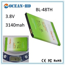 3140mAh Battery BL-48TH for LG F240L F240S F240K OPTIMUS G PRO F240 E985T OPTIMUS G PRO E988 E980 F310 battery