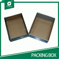 PRINTED RECTANGLE CORRUGATED FRUITS PACKAGING CARTONS WHOLESALE