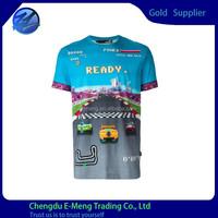 Cheap Price Custom Short Sleeves New Full-size Printing T-shirt