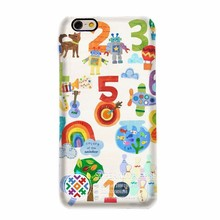 3D Blank Sublimation Mobile Phone Case ,Custom Logo Printed Phone Cover,Number Case