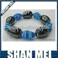 swan egg shaped beads design magnetic hematite health care bracelete small order welcome