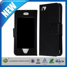 C&T Hottest and elegant design wholesale leather covers for iphone5s