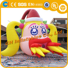 Inflatable cartoon for advertising , new style customized inflatable cartoon , fixed colourful promotional inflatables