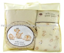 4pcs baby bedding sets