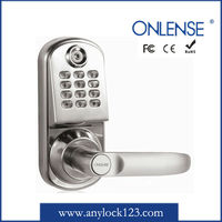 Small Electronic Keyless Door Lock with Code Card Key