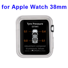 WOW!!! Transparent Protective TPU Case for Apple Watch 2015