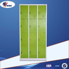 Modern Design Metal Office Furniture 9 Door Clothes Wardrobe Locker/Steel Clothes Cabinet