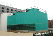 closed / open cooling tower with PVC fill mist eliminator