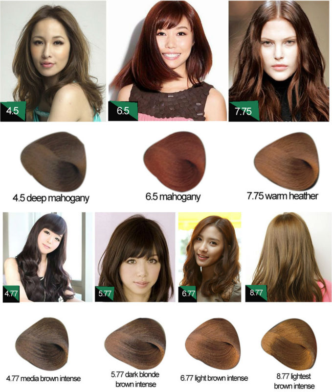 Professional Permanent Halal Hair Color Brand Names View Hair ...