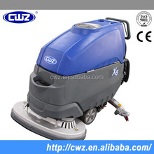 Automatic walk behind floor cleaning machine