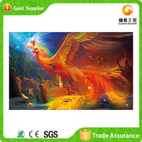 Factory supply beautiful gift decorative hand make abstract acrylic painting