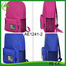 New Product For 2015 Promotional Polyester school backpack china