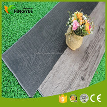 Wood Grain Surface Eco Click Vinyl Flooring With Grey Colors