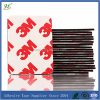 Heavy duty customized red waterproof plastic adhesive stickers