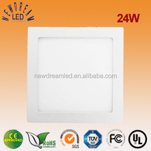 24W square LED panel light 300x300 mm for house use