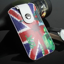 new for iphone 6 pu leather pouch for iphone 6 pouch custom design pouch for iphone