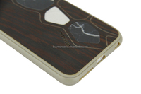 2015 popular item phone case , handmade wood / marble skin Phone Case for phone 6