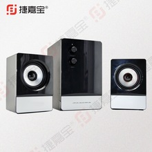 JJB 3109 Strong bass 2.1 wooden professional multimedia speaker