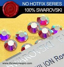 Original Swarovski Elements AB Clear (001AB) 5ss Flat Back Crystal No Hot Fix Rhinestone
