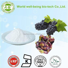100% natural Resveratrol Grape Skin Extract/Natural Food Grade Resveratrol Trans Resveratrol Grape Skin Extract